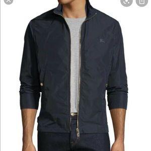 Burberry Black Nylon Jacket